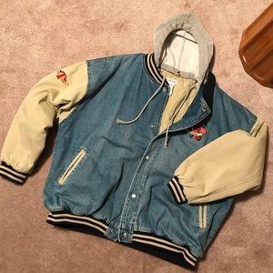 """Vintage Disney """"Tigger"""" 100% cotton jean jacket."""